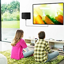 Indoor Ultra-Thin Free Digital HD TV Television Antenna with 8 Feet Coaxial Cable