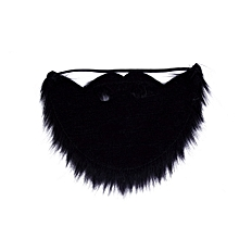 Fancy Dress Mustache & Fake Beard Facial Hair Party Costume Dress Up Halloween Black