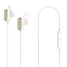 Xiaomi YDLYEJ03LM IPX4 Waterproof In-ear Sports Earphone Bluetooth Earbuds with Line Control Microphone Youth Edition - WHITE