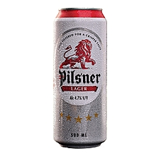 Lager Can 500ml