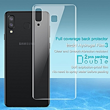 Imak 2pcs Hydrogel Film for Samsung Galaxy A9 Star G8850 Full Cover Back Screen