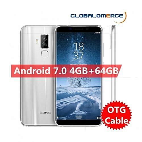 "S8 - 5.7"" 4G Android 7.0 4GB/64GB Fingerprint OTG EU - Silver"