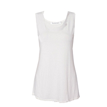 Cream White Vest