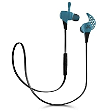 X2 Wireless Headphone Mini Sport Gaming Bluetooth EarphonesHeadphones Fire (Color:Blue)