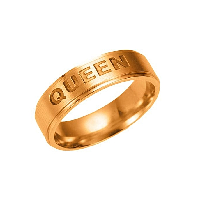 Buy Fashion 2017 New Sterling Silver Queen Ring King Couples Rings