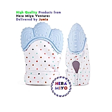 Baby Teething Mitten Soother Glove- Sky Blue