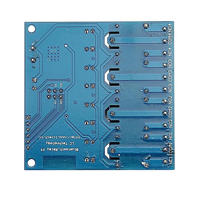 12V 4 bluetooth Relay Module Four bluetooth Smart Home Phone APP Remote  Control Switch