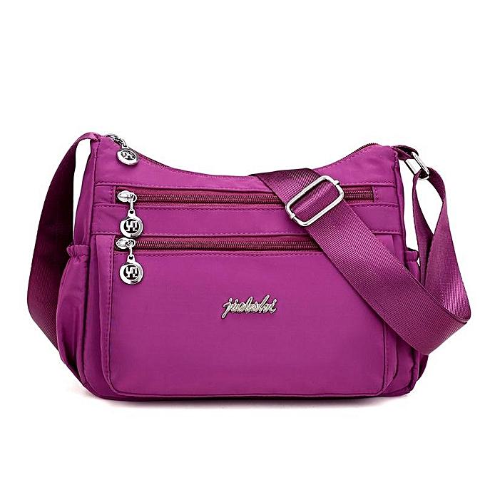 f10c85f9e5 Flower cloth bag female bag Messenger bag Oxford shoulder bag Casual nylon bag  canvas Mummy bag
