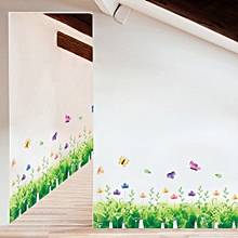 DIY Plant Removable Wall Decal Family Home Sticker Mural Art Home Decor-Green