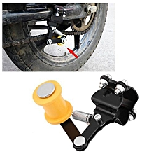 Adjuster Chain Tensioner Bolt On Roller Motorcycle Modified Accessories Universal Tool Black Motorcycle Chain Tensioner