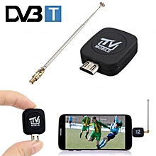 Micro USB DVB-T TV Tuner Mini Digital Satellite Receiver Stick For Phone Tablet