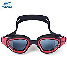 Swimming Goggles Anti-fog UV Protection Swim Glasses - Red