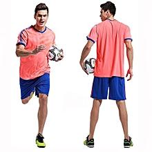 Customized  Adult Men's Football Soccer Sport Team Jersey Set-Orange(QD-1702)