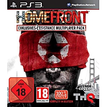 PS3 Game Homefront Exclusive MultiPlayer Pack