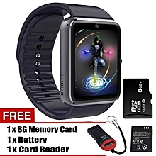 GT08 Smart Watch with Hands-Free Call / Camera / Bluetooth Wireless Connect For Android & iOS BDZ