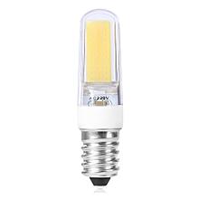 E14 5W 486Lm COB 2609 220V LED Light Bulb - Cool White Light