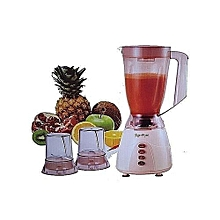 The blender..Signature 3 in 1 Blender with Grinder - 1.5 Litres - Classic Cream