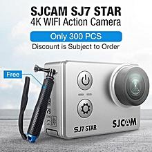 "SJCAM SJ7 STAR 4K WiFi Sports Action Camera 2"" LCD DV Camcorder Ambarella A12S75 Silver"