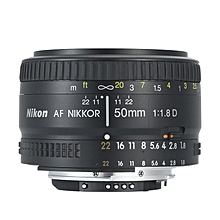 Nikon Lens 50 1.8 D Nikkor AF 50mm f/1.8D Lenses For Nikon D90 D7100 D7200 D610 D700 D810 D5 Digital Camera Professional NEW Black