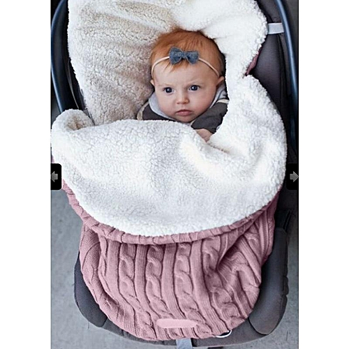 498131fd0 Buy Generic Baby Knitted Blanket Swaddle Sleeping Bag Kids Toddler ...