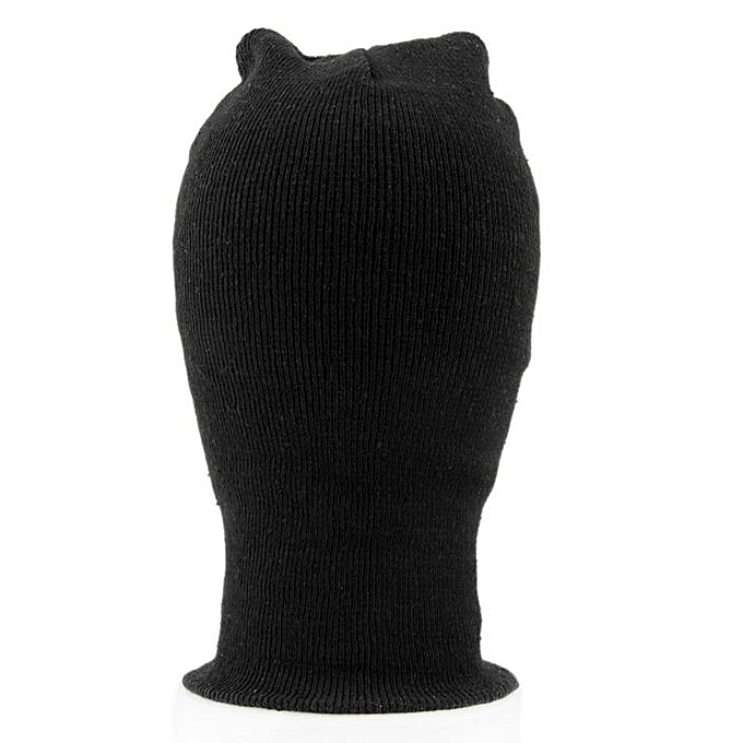 b4d604e3f27 Balaclava Motorcycle Neck Winter Ski Full Face Mask Cover Hat Cap Black