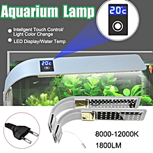 15W LED Aquarium Light Fish Lighting Touch Control Blue/White/Blue-White Lihgt