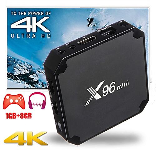 X96 MINI 4K TV BOX Android 7 1 2 Quad Core Smart Media Player 1GB+8GB WiFi