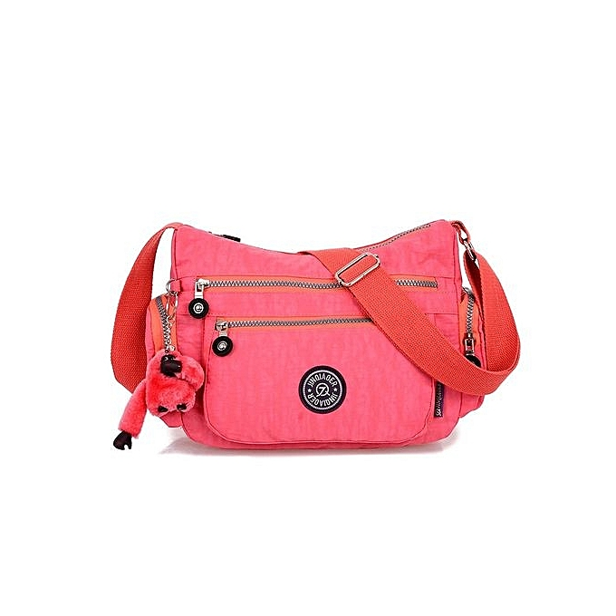 397c48fb89 Fashion Crossbody Shoulder Bags Casual Daily Bags Travel Messenger Bags  (Pink)