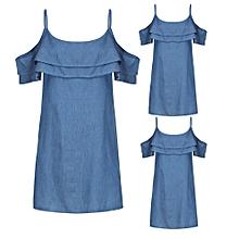 Generic Women Casual Denim Sleeveless Crop Top Vest Tank Shirt Blouse Cami Tops A1