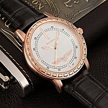 Gold Wristwatch Business Men Watches Quartz Watch Male Clock