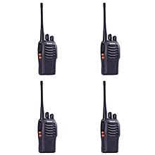 BAOFENG BF-888S Walkie Talkie Two-way Portable CB Radio (4 Unit)