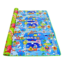 Baby crawling play mat development rug 200 * 180 * 0.5 children kids foam carpet