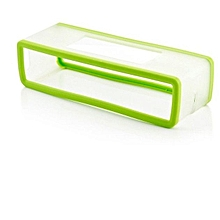 Travel Box Silicone Carry Case Bag for BOSE SoundLink Mini Bluetooth Speaker -green