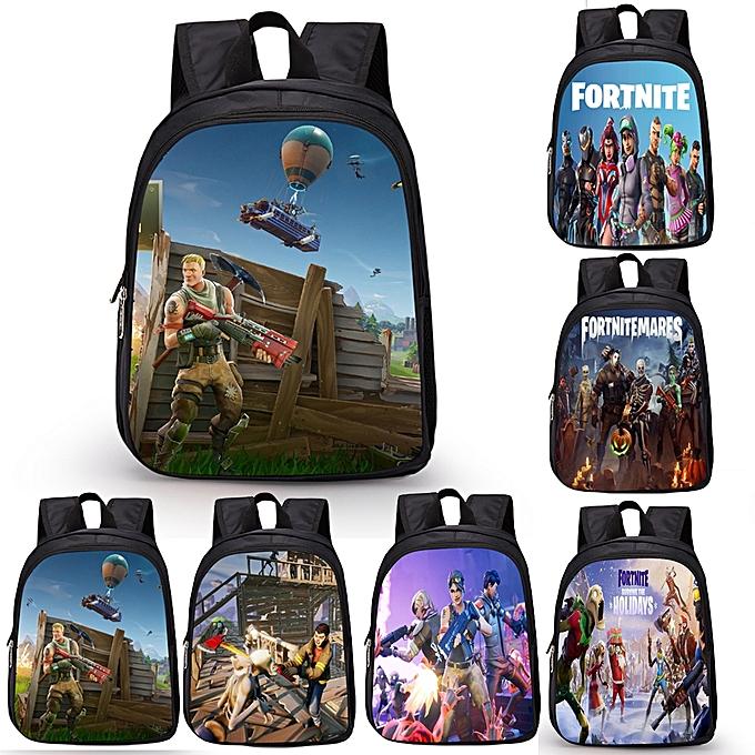 17d9c971cb Fashion Women Men Backpack Fortnite Character 3D Print Teens Kids Children  Travelling Shoulder Bag Schoolbag
