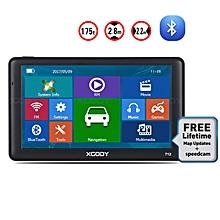 "XGODY 7"" Car Truck GPS Navigation SAT NAV Navigator Bluetooth AU EU Maps 256MB"