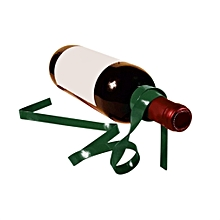 Magic Suspended Ribbon Wine Rack Suspension Wine Stand Novelty Iron Holder