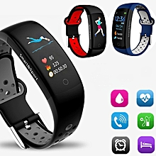 3D Dynamic Smart Bracelet Blood Pressure Heart Rate Monitor Smart Wristband Waterproof With Sports Fitness Smart Watch For Android IOS