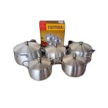 Aluminum Cooking Pots,10pc Set