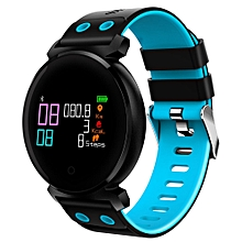 CACGO K2 Bluetooth 4.0 Nordic NRF52832 Chip Sleep / Heart Rate / Blood Pressure / Blood Oxygen / Calories Monitor Remote Camera Smart Watch for iOS / Android Phones-BLUE