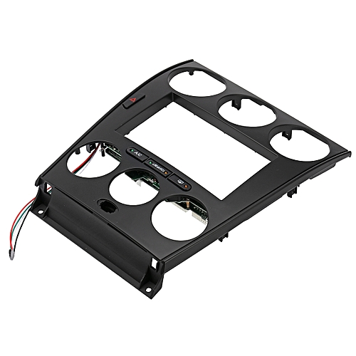 generic mazda 6 black double din dash kit radio stereo wiring harness  install navigation