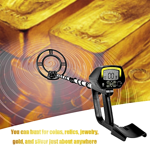 Generic Portable Easy Installation Gold Detectors LCD Display High Sensitivity Treasure Hunter Underground Metal Detector