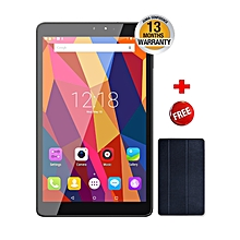 "Joy10 - 10.1"" - 16GB - 1GB RAM - 8MP Camera  - Dual SIM - 3G & WiFi - Black + Free Flip Cover"