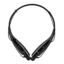HBS-730 Wireless Bluetooth 4.0 Headset Earphone - Black