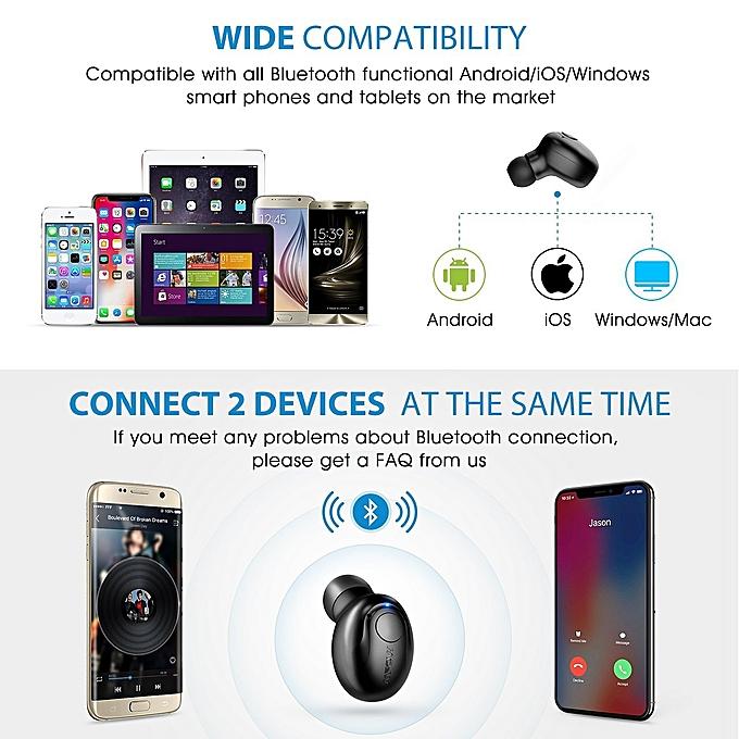 9d18d56fc1a Generic Mpow Single true Wireless Earbud, V4.1 Mini Bluetooth Earbud ...