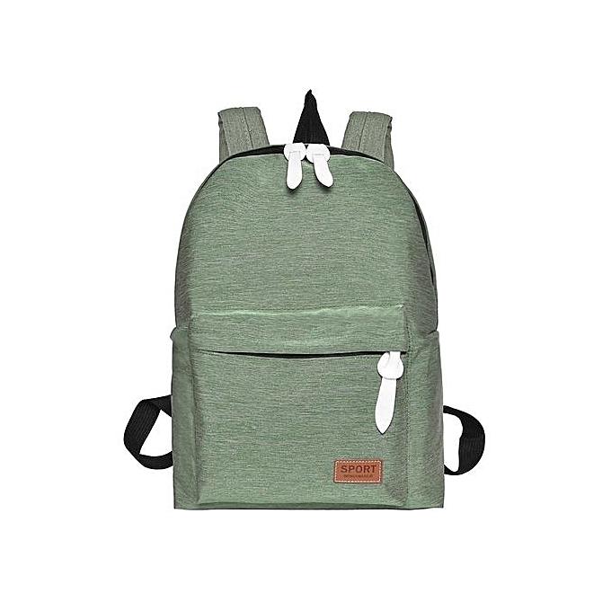 664b2aafee Women Girl Backpack Travel Canvas Handbag Rucksack Shoulder School Bag  Bookbag