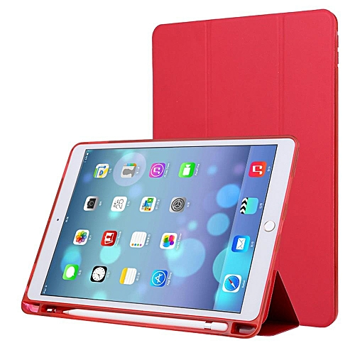 pretty nice 017ac f58f9 For iPad Pro 10.5 Case with Apple Pencil Holder Slim Auto Wake/Sleep Smart  Cover CHD-Z