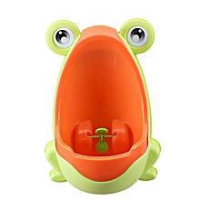 Children Toddler Kid Baby Boy Frog Potty Urinal Pee Toilet Bathroom Training