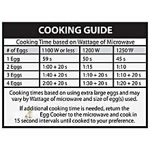 Microwave Egg Cooker Portable Design With Lid Instant Scrambled Ceramic Egg Poacher