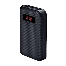 Proda 10000mah Power Bank With Dual Power output- Black