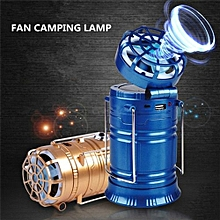 Colour Blue Led Flashlight Emergency Hand Lantern Solar Outdoor Camping Hiking Lamp